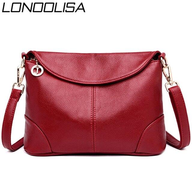 Sac A Main Small Leather Luxury Handbags Women Bags Designer Ladies Shoulder Crossbody Hand Bags for Women 2020 Bolsa Feminina