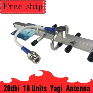 Image 4 - Antena Yagi externa para exteriores, 2g, 3g, 4g, 20dBi Gain, 700 2700mhz, 3G, 4g Lte, con N hembra