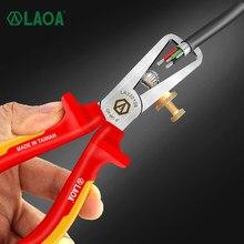 LAOA 6 Inch VDE Draht Stripper 1000V Isolieren Kabel Abisolieren Zangen mit GS Anti Flaming Hohe Temperatur Widerstand