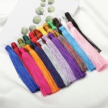 10 шт 22 цвета 12 см шелковые кисточки для изготовления ювелирных