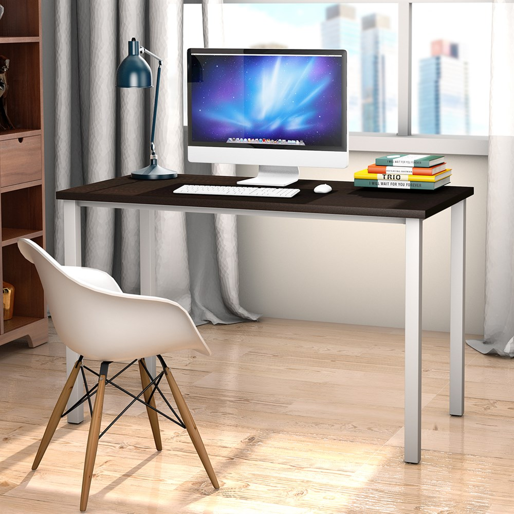 Costway Home Office Desk Computer PC Writing Table Workstation Furniture Wooden Modern