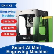 NEJE-Profesjonalna maszyna do cięcia laserowego DK-8-KZ 1500/2000/3000mW, dIY, stacjonarny sprzęt, mini CNC, grawerowanie, cięcie drewna, router