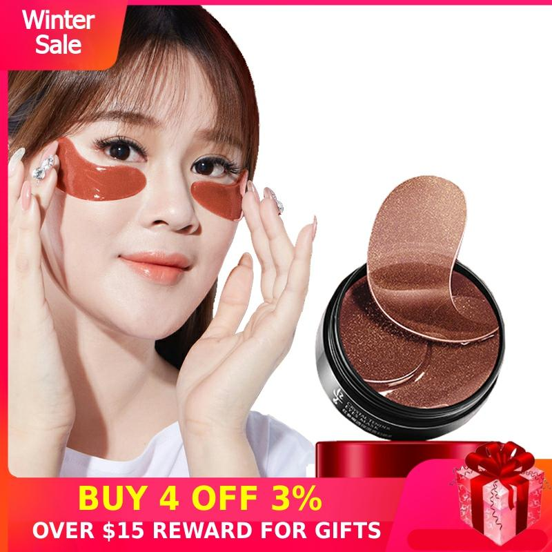 Collagen Eye Patch For Ginseng 60PCS Hydrating Hydrogel Anti Aging Care Eyes Mask Under Korea Gel