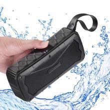 S610 basse lourde étanche extérieure Bluetooth haut-parleur 4500mAH batterie externe Portable 3D stéréo sans fil équitation Sport haut-parleur TF Mic