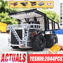 Yeshin 13170テクニック互換29699 liebher terex T284マイニングショベルダンプトラックモーターカーモデルビルディングブロックレンガ