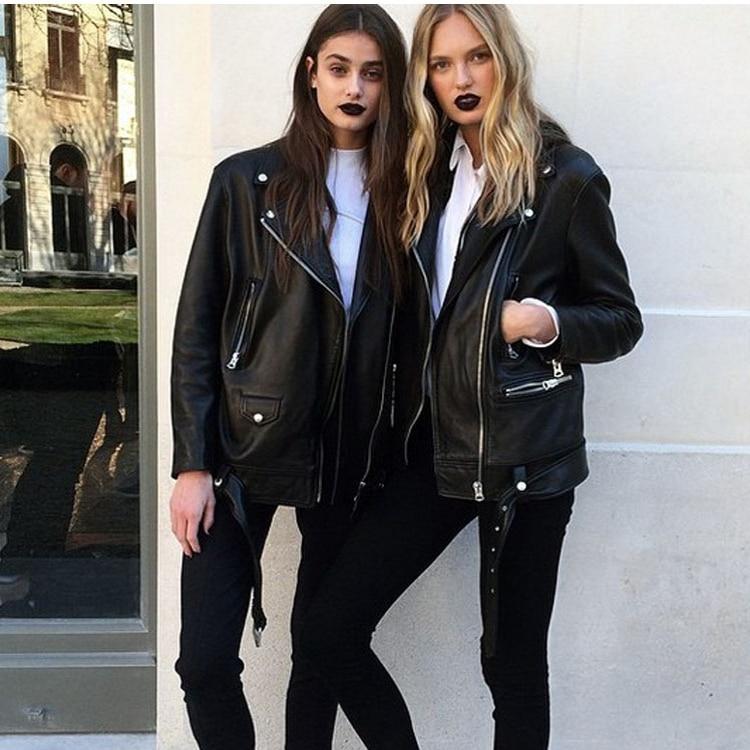 Free Shipping,Brand New Genuine Leather Woman Loose Jacket.fashion Female Sheepskin Jacket,soft Plus Eur Size Leather Coat,sales