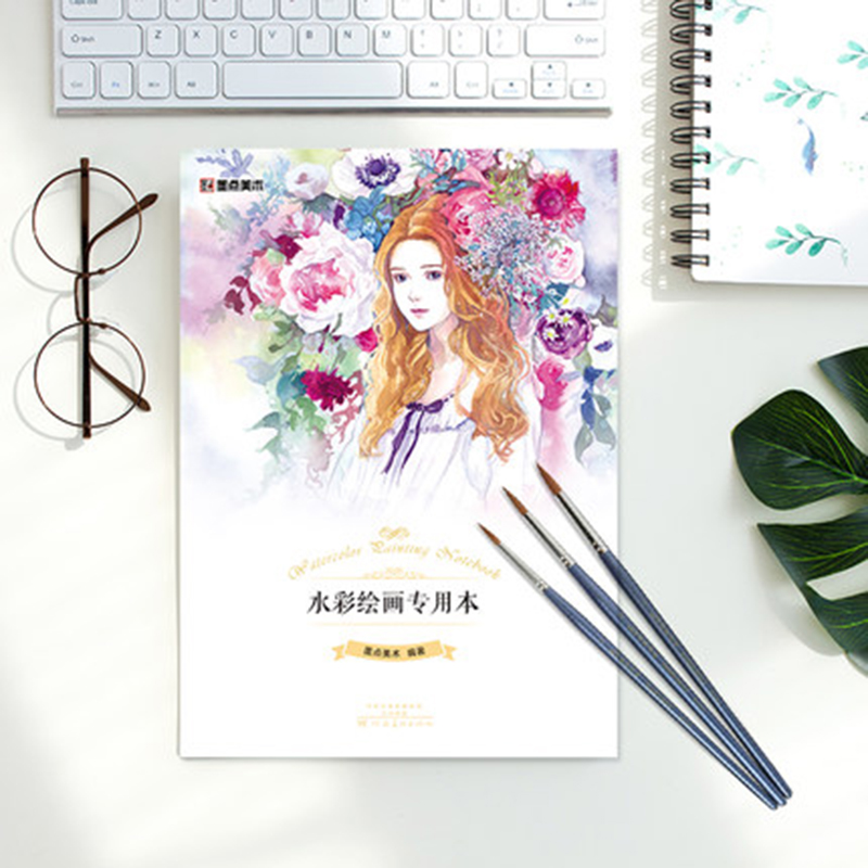 Manga Painting Dedicated Adult Beginner Coloring Fine Art Blank Sketch Hand-painted 30 Zhang Manuscript Paper Coloring Book