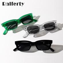 Ralferty – lunettes de soleil Vintage pour femmes, petite monture rectangulaire, nuances rétro, W20236, 2020