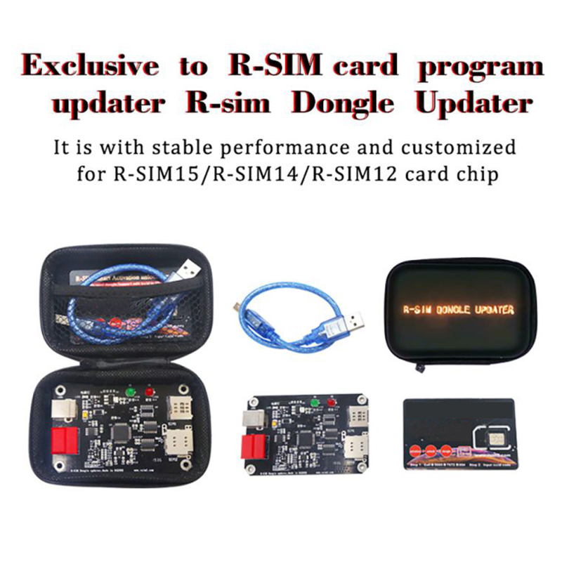R-SIM Dongle Updater Smart Unlock Card Upgrading Accessories For IPhone 11 Pro Max/11/XS Max/X /5/6/7/8