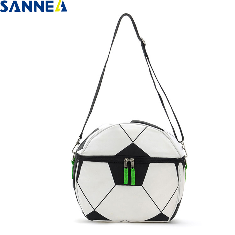 SANNE 10L Football style cooler bag insulated thermal bag thermal waterproof portable insulated ice bag can carry food and drink