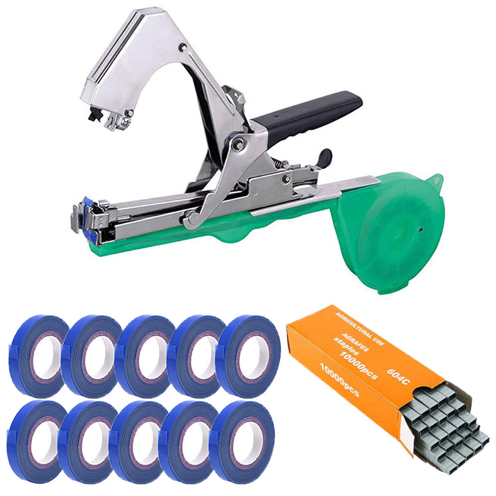 Branch Vegetable Minced Garden Plant Hand Home Machine Tapes Tapener Tapetool Garter Tools Plants Garden Binding Tying