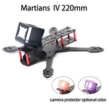 TCMM cadre de Drone Martian IV 5 pouces, base de roue 220mm, en Fiber de carbone, pour course de Drone FPV