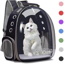 Cat Backpack Breathable Pet Carrier Bubble Bag, Small Dog Hiking Backpack Carrier, Space Capsule Dog Travel Carrier