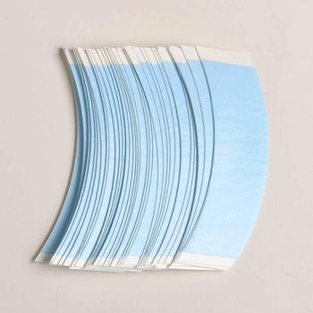 36 sztuk partia koronki przodu niebieski peruka taśma taśma dwustronna dla peruka koronkowa peruka taśma do przedłużania włosów System włosów taśma klejąca tanie i dobre opinie 7 6cm*2 2cm Lace Front Blue Wig Tape 1bag 36pcs Kleje White No Shine Hair Extension Tape 4~10 weeks Tape Extension Toupee Lace wig