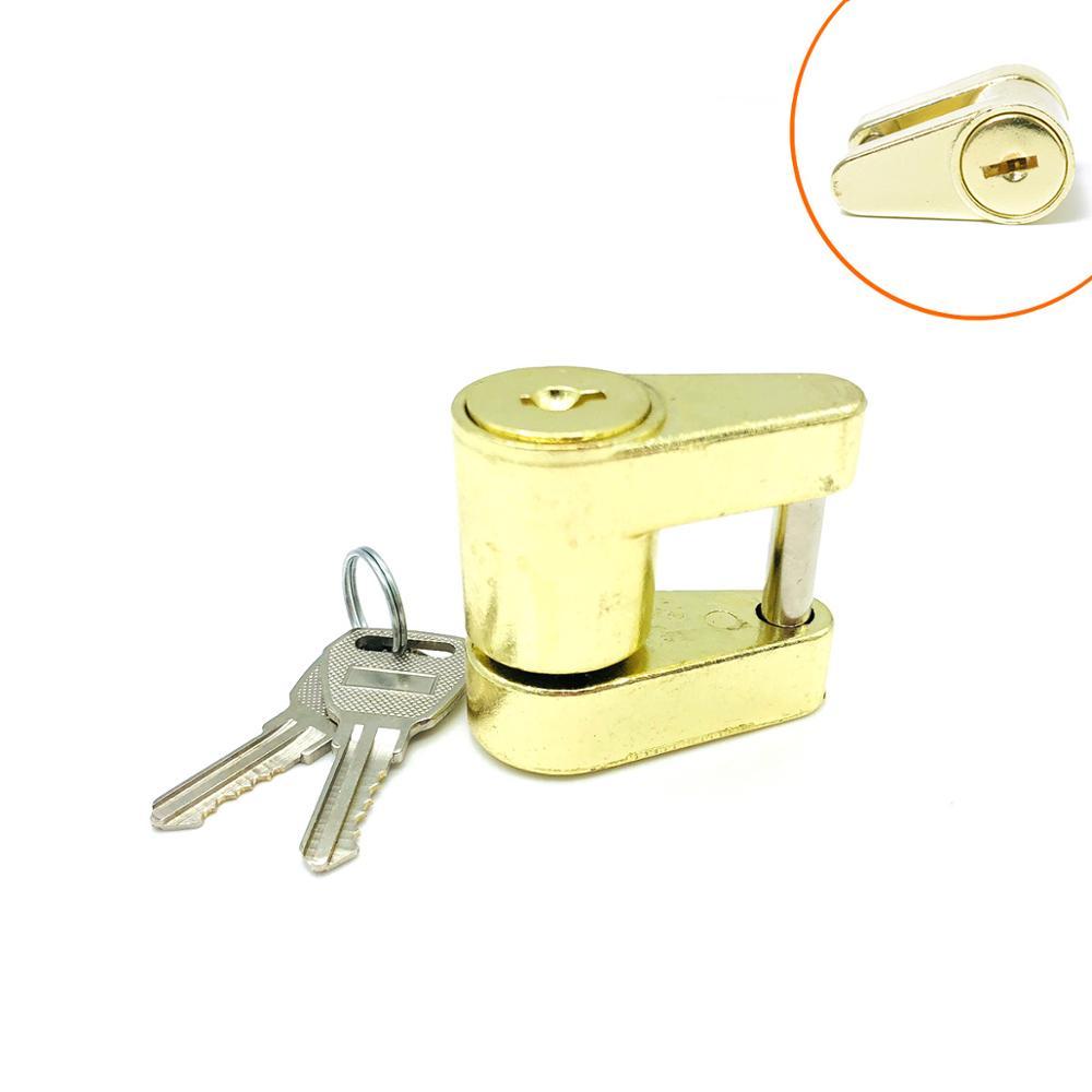 Прицеп муфта навесной замок Твердый латунный прицеп замки для сцепки безопасности Защита от кражи A0444