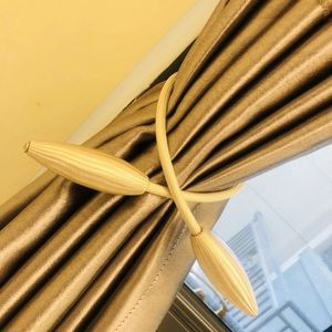 Image 5 - Neue Perle Magnetische Kugel Vorhang Einfache Krawatte Seil Rücken Holdbacks Schnalle Clips Zubehör Stangen Accessoires Haken Halter Home Decor