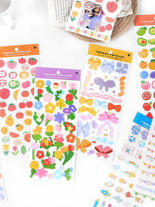 Cartoon Stickers Scrapbooking Gift School Stationery Collag Japanese Aestheti Kawaii