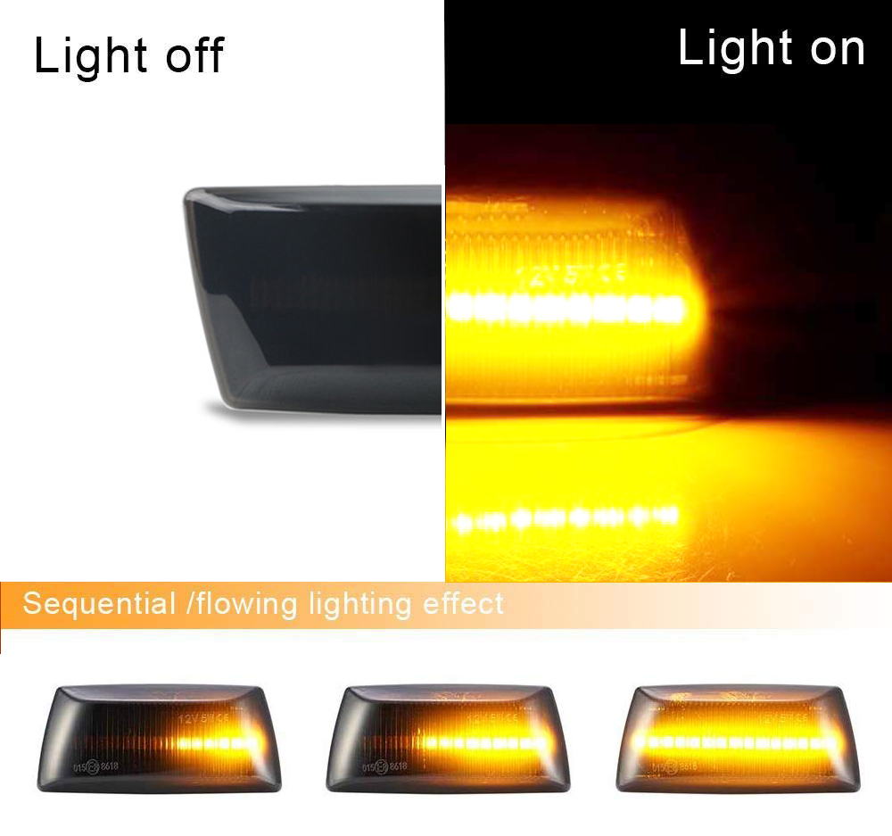 Side Marker Repeater Lamp Chevrolet-Daewoo Cruze 2009 Left Side 1713423