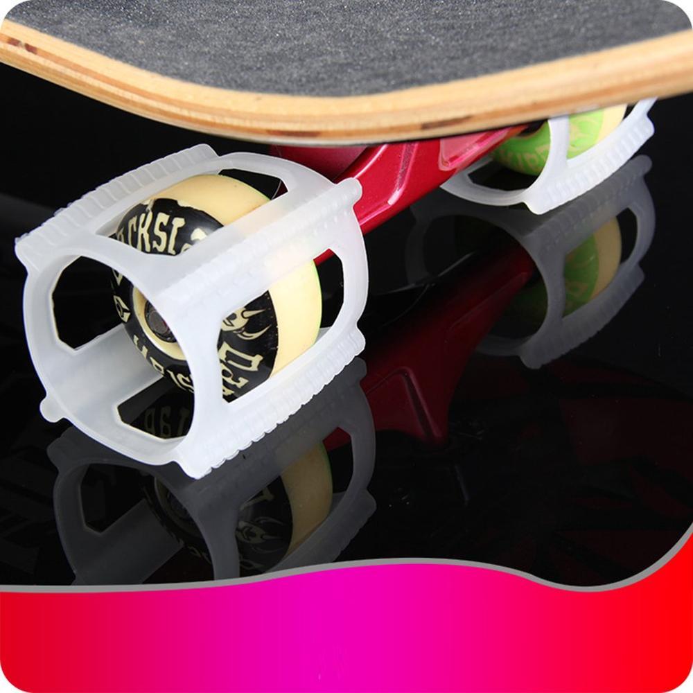 Double Skating Skateboard Wheel Set Dolphins Jumper Orly Holder Ollie Fixer Wheel Lock Dolphins Jump Fixed Wheel