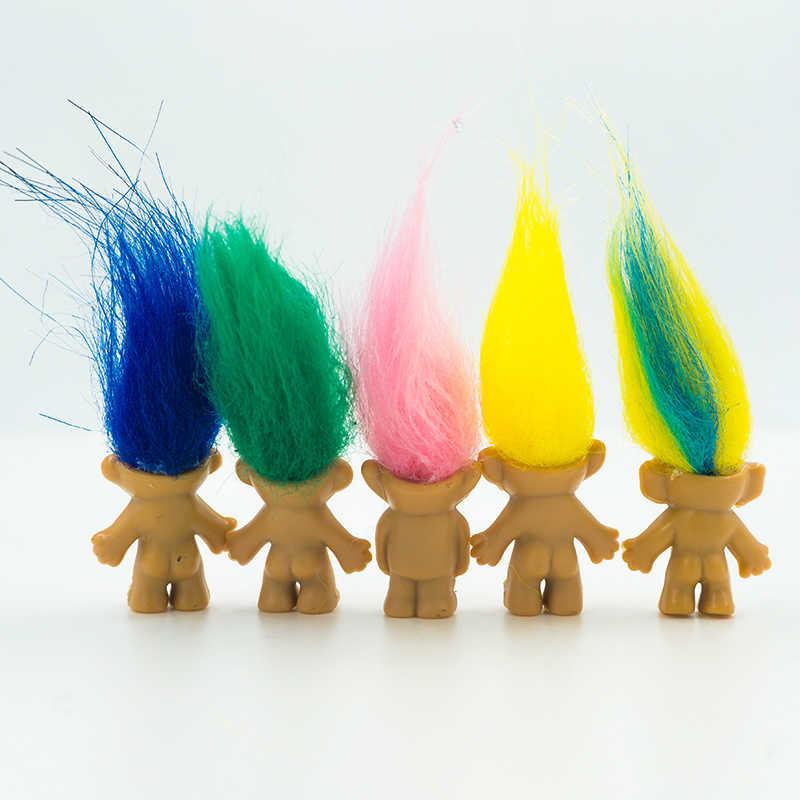 5 יח'\חבילה ילדים אנימה פעולה איור 10 צבע יפה שיער משפחה חבר אבא אמא תינוק צעצועים לילדים נוסטלגי למבוגרים juguetes