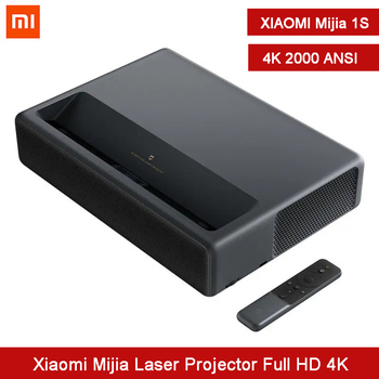 Xiaomi Mijia Laser Projector 1S 4K 2000ANSI Lumens 2GB 16GB TV HDR TV Cinema Bluetooth WiFi 3D Home Theater System Movie Player