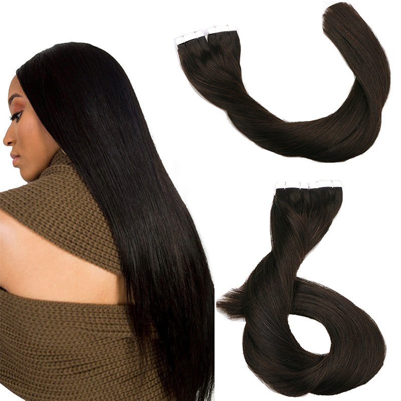 Wholesale 100% Toysww Indian Tape In Hair Extension Human Tape Hair Extensions For Hair Salon