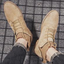Męskie 2020 przyczynowe trampki gorące męskie męskie ocio męskie męskie buty Sneaker obuwie skórzane czarne sportowe masculino sapato brązowe wyprzedaż tanie tanio Kalorzze Podstawowe ANKLE Stałe Dla dorosłych Mesh Okrągły nosek RUBBER Wiosna jesień Niska (1 cm-3 cm) Lace-up Pasuje prawda na wymiar weź swój normalny rozmiar