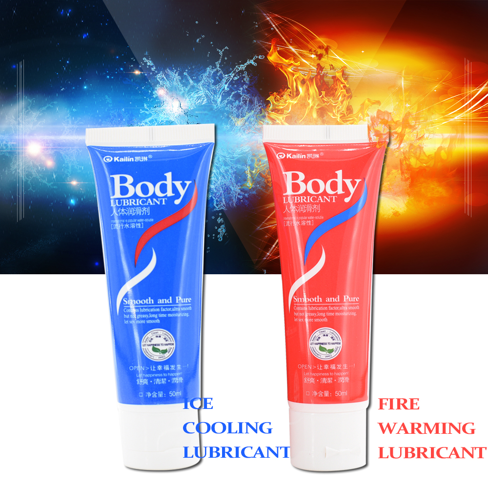 Water Based Lubricant For Sex Masturbation Fire Warming Feeling Lubricant Ice Cooling Feeling Lubricant Vaginal Oral Gay Sex Toy