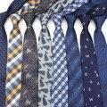 Мужские галстуки-бабочки, повседневные облегающие галстуки из полиэстера, 6 см, аксессуары в подарок, NO.1-20