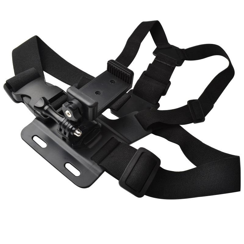 Chest Strap For Gopro Hero 7 6 5 Xiaomi Yi 4K Action Camera Chest Mount Harness For GoPro SJCAM SJ4000 Sport Cam Fix