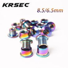 MTB Chainring Bolt-Plate Screws Bicycle-Parts Steel 4/5PC