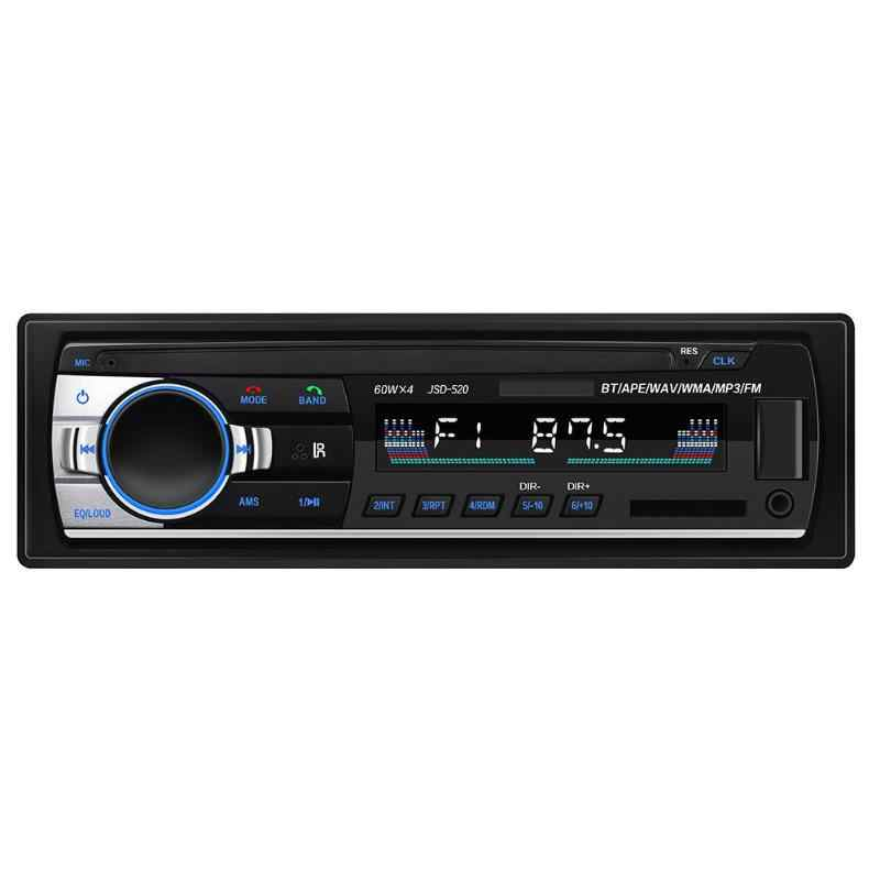 ALLOYSEED JSD-520C-B 1Din In-Dash Auto Radio 12V Digitale Bluetooth Autoradio Stereo FM AUX Eingang USB Audio Musik auto MP3 Player