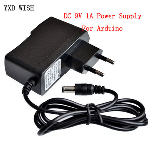 DC 9V 1A Power Supply Adapter