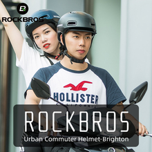 Bike-Helmet Cycling-Equipment ROCKBROS Bicycle Integrally-Molded EPS Unisex Adjustable-Hat
