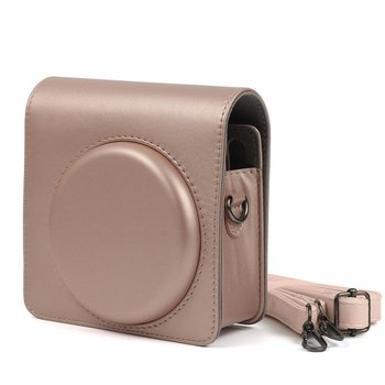 Protective Case for Fujifilm Instax Square SQ6 Instant Film Camera PU Leather Bag with Shoulder Strap For Instant Square SQ6 fujifilm colorfilm square film 10 1pk для instax square sq6 sq10 sq20 instax share sp 3 16549278 70100139613