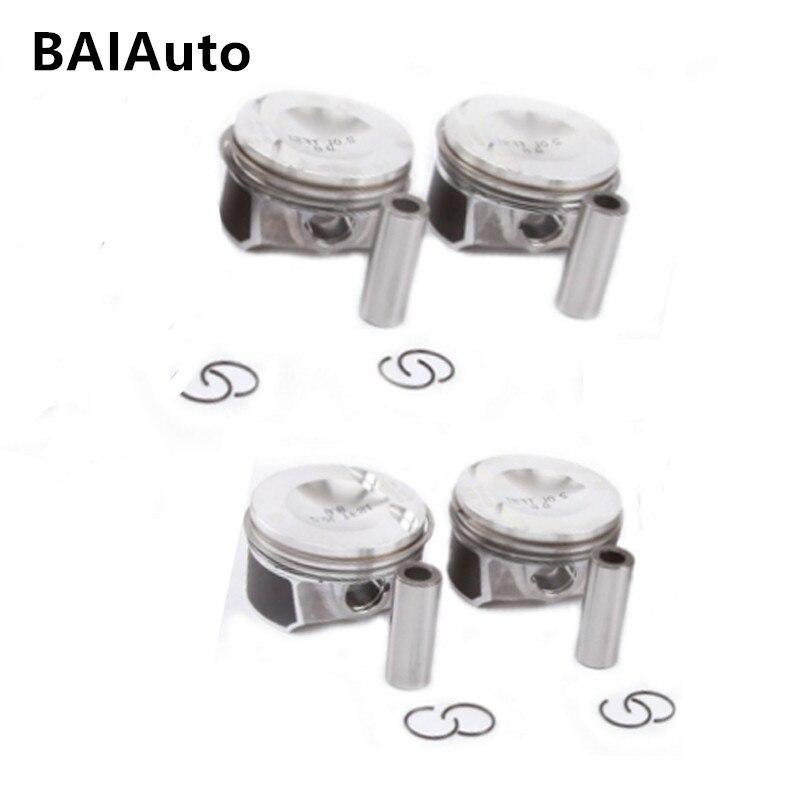 New OEM 06H107065AM Piston Piston Ring Set Kit For Audi A4 Q5 TT VW Passat Tiguan Jetta Golf 2.0T Pin 21mm 06J198151B 06H198151J