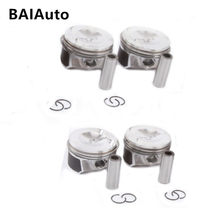 New OEM 06H107065AM Piston Piston Ring Set Kit For Audi A4 Q5 TT VW Passat Tiguan Jetta Golf 2.0T Pin 21mm 06J198151B 06H198151J(China)