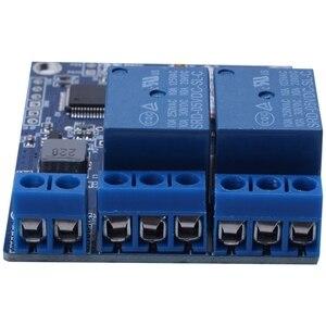 Image 4 - Tin Nhắn Sms Gsm Công Tắc Điều Khiển Từ Xa Sim800C Stm32F103C8T6 Module Relay 2 Kênh Cho Nhà Kính Máy Bơm Oxy