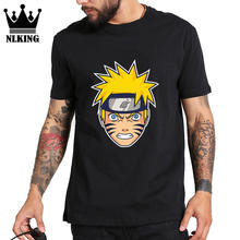 Manches courtes imprimé Naruto costume cosplay t-shirts naruto manga homme sang jeunesse Uzumaki t-shirt hommes cool japon top animé t-shirt(China)