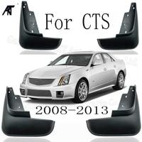 Set Car Mud Flaps For Cadillac CTS 2008- 2013 Mudflaps Splash Guards Mud Flap Mudguards Fender Front Rear