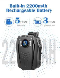 Image 4 - BOBLOV – caméra corporelle WiFi 1296P, portable, Vision nocturne, mémoire intégrée