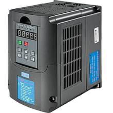 VEVOR 0.75/1.5/2.2/3.0/4.0/7.5KW 220V VFD Variable Frequency Drive CNC VFD Motor Drive Inverter Converter for CNC Router Milling