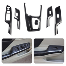 Trim Honda Civic Window-Switch-Cover Door CITALL Console Gear-Shift 9th 1set Fit-For