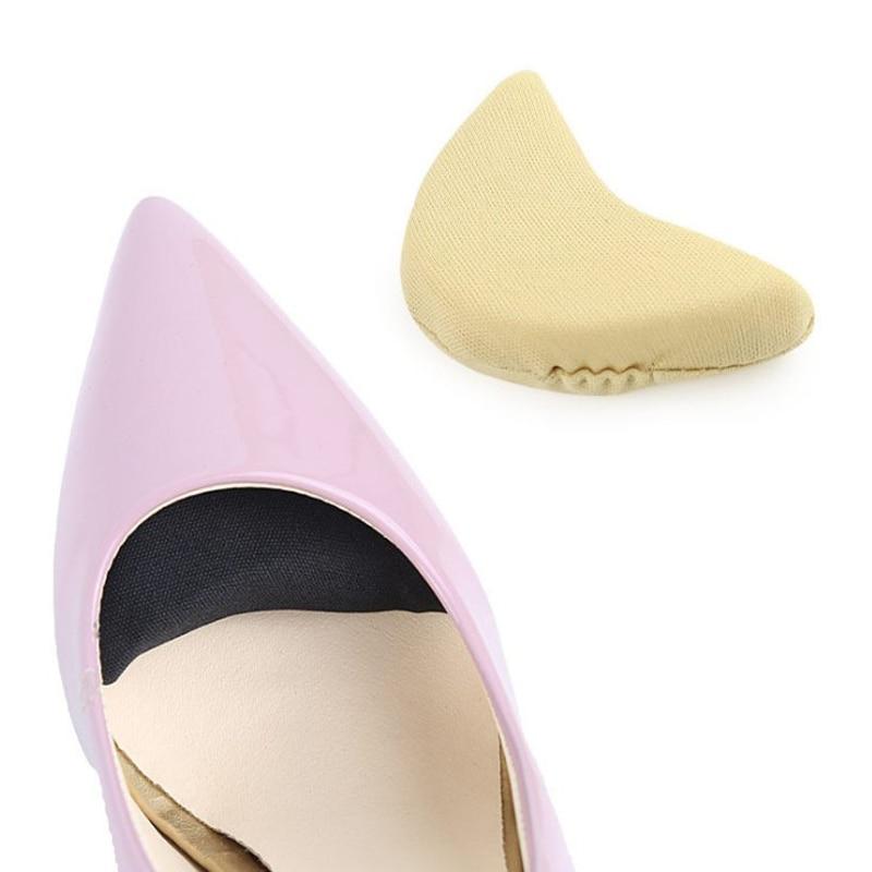 5 Pair Toe Plug Adjust Size Foot Forward, Wear-resistant Round Head, Put Shoes Big Sponge Female High Heel Front Pad