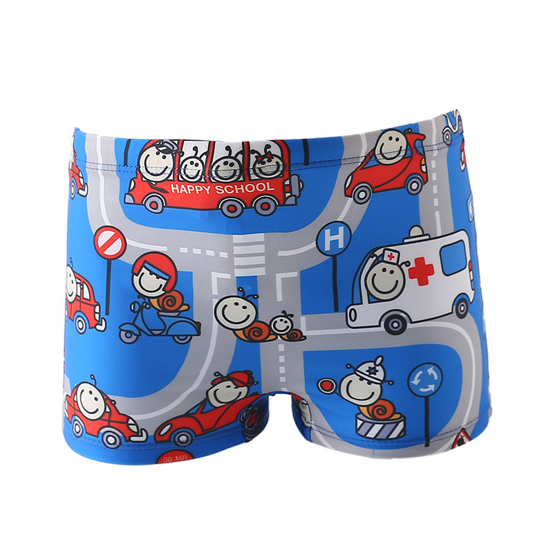 CHILDREN'S Swimming Trunks Middle And Large BOY'S Swimming Trunks Small Swimsuit Child Chinlon CHILDREN'S Infant Baby Swimming T
