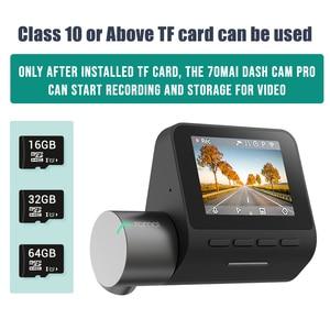 Image 3 - 70mai Pro Dash Cam Englisch Voice Control Smart Auto DVR 1944PHD Dash Auto Kamera Parkplatz Monitor 140 FOV Nacht Version