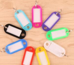 10 шт., пластиковые ярлыки для багажа Брелоки    АлиЭкспресс - Топ аксессуаров с Али