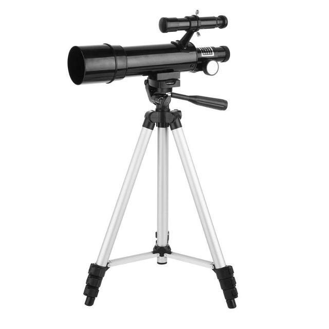 135X Professional Astronomical Telescope with Barlow Lens Eyepiece & Tripod with Knapsack Telescope Space Observation