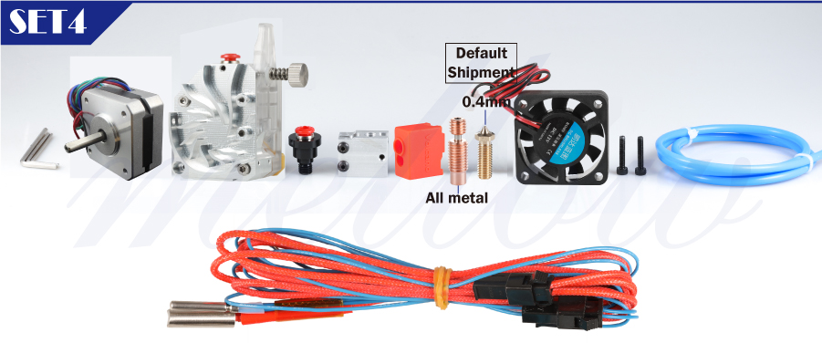 Mellow NF-BMG-WIND V6 Dual Drive BMG Extruder For Ender 3 as 3D Printer Parts