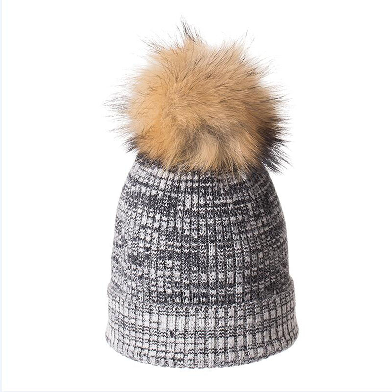 HANGYUNXUANHAO Winter Beanies High Quality Lady Beanies Women Hats For Autumn Warm Knitted Caps Wool Hat Female New Wholesale in Women 39 s Skullies amp Beanies from Apparel Accessories